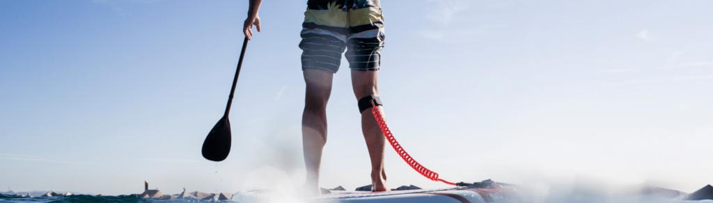 Deportista-paddlesurf